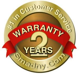 Smadny Communications - Warranty 2 year Seal