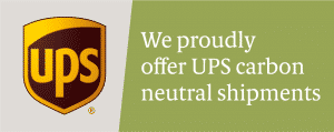 UPS Logo Carbon Neutral Shipments Green
